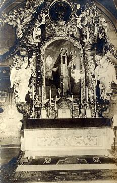 Galeria Pierwotny wygląd kaplicy